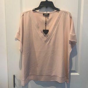 DKNY v-neck blouse